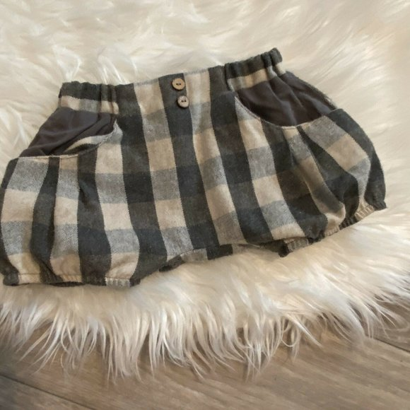 Popelin Other - Popelin Boys Bloomers Size 3-4 Check Wool Blend